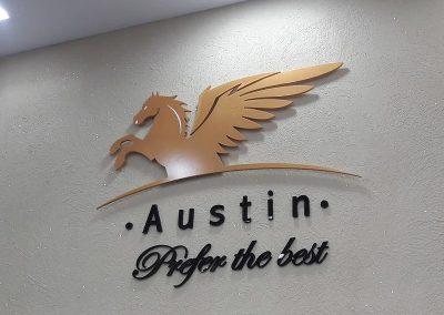 לוגו בולט Austin